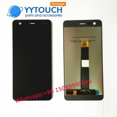 100% Tested For Nokia 2 LCD Display Touch Screen Digitizer Assembly Mobile Phone Nokia2 N2