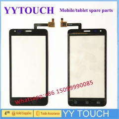 2 Color Touchscreen For Fly IQ456 ERA Life 2 IQ 456 Touch Screen Sensor Digitizer Front