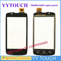 2018 Rubinzhi Phone Touch Panel For Fly Iq4490 Era Nano 4 Iq 4490 Touch Screen Digitizer Front Glass Sensor Touchscreen +Tape