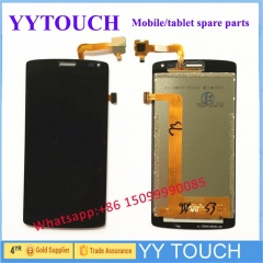 High Quality Black color For Fly IQ4417 ERA Energy 3 LCD Display+Touch Screen Digitizer