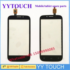 Phone Touchscreen Digitizer For Fly IQ4404 IQ 4404 Touch Screen Sensor Touch Glass Panel Lens