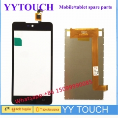 Lcd screen Wiko Rainbow Lite touch screen digitizer