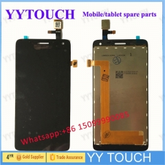 For Lenovo S660 LCD Screen with Touch Screen Digitizer Assembly Black Free Shipping