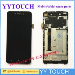 "For 5.0"" Lenovo S90 LCD Display Touch Screen Digitizer Assembly With Frame S90-T"