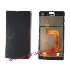 Black For Sony Xperia T3 M50w D5102 D5106 LCD Display With Touch Screen Digitizer Full Assembly