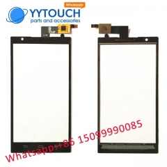 Touch Screen Panel Replacement for ZTE ZMAX Z970 Black