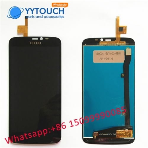 Touch+lcd assembly For tecno l6 lcd screen complete